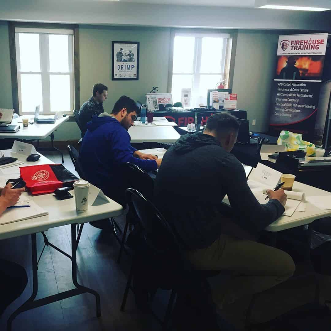 In-Person Firefighter Aptitude Test